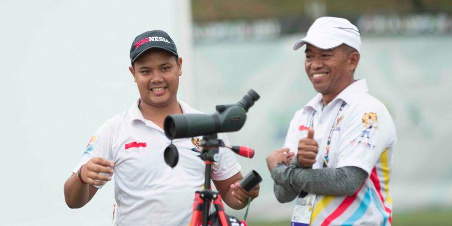 Ada yang Bikin Salah Fokus Nih di Latihan Prima Wisnu Wardhana dalam Persiapan SEA Games 2017