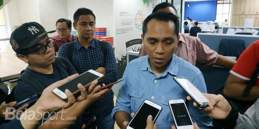 PT LIB Pecat Tigor Shalomboboy dan Risha Adiwijaya