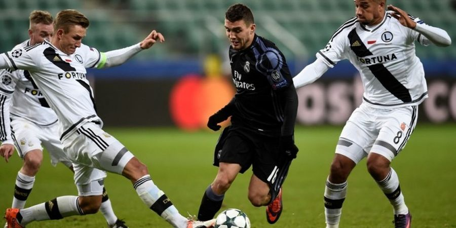 Gelandang Real Madrid Menangis Setelah Menikah