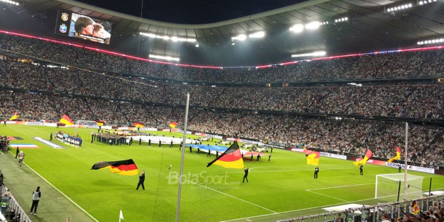 Susunan Pemain Jerman Vs Rusia - Jerman Beri Kesempatan Starter Perdana Pemain Mudanya