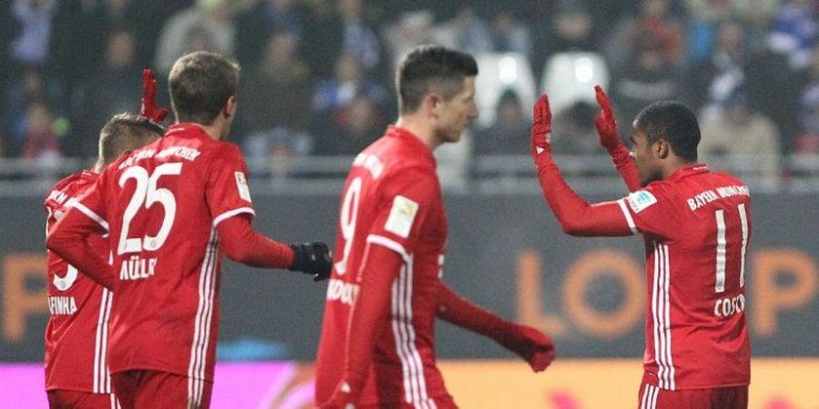 Douglas Costa Ingin Geser Franck Ribery