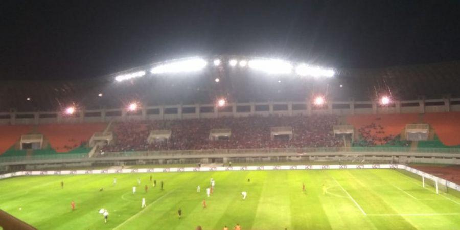 Timnas U-23 Indonesia Tertinggal dari Korea Selatan di Babak Pertama
