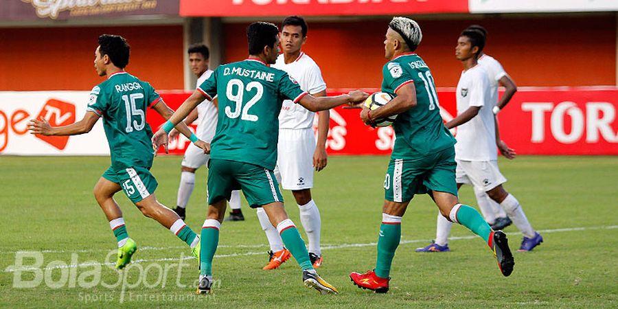 Cristian Gonzales Kembali Cetak Gol, PSS Sleman Tetap Kalah