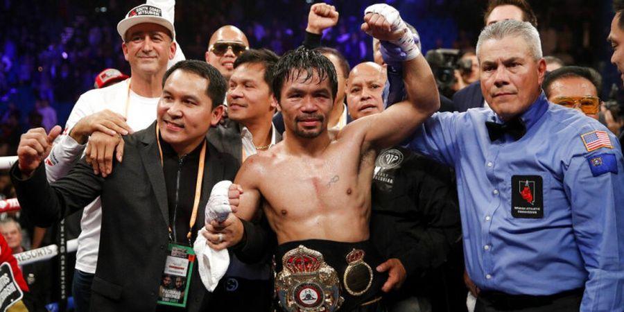 Manny Pacquiao Ditantang Pemegang Sabuk Juara WBA Super Kelas Welter
