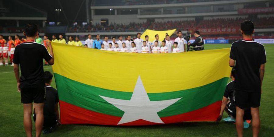 Timnas Myanmar Ngamuk di Babak Kedua dan Menang Besar pada Laga Pertama Piala AFF 2018