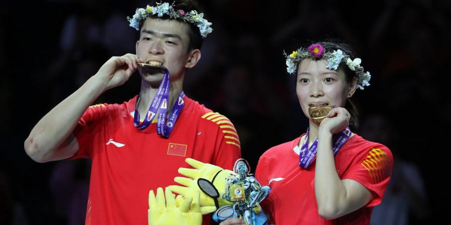 Setelah Jadi Runner Up Tahun Lalu, Pebulu Tangkis China Ini Tak Percaya Sekarang Juara Dunia