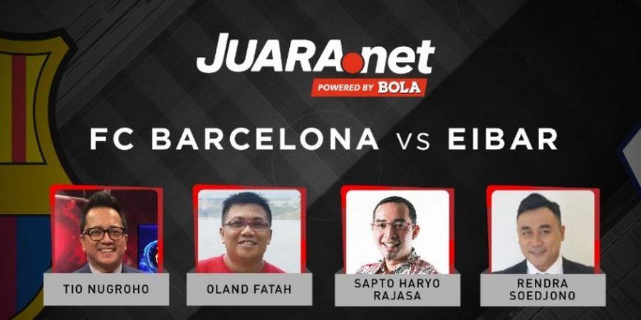 Ini Dia Prediksi Skor Barcelona Vs Eibar