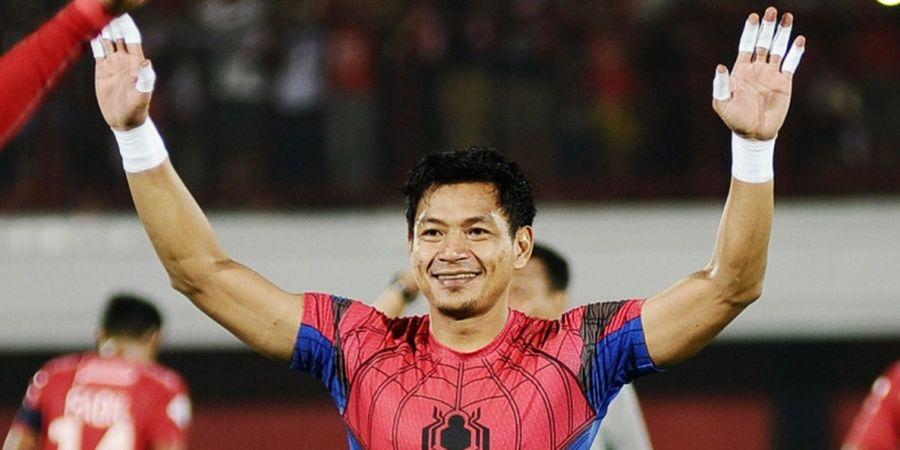 Kiper Bali United Waspadai Ancaman Lini Depan Barito Putera