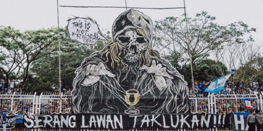 Koreografi dari Bobotoh Tasikmalaya Jadi Kejutan bagi Persib Bandung