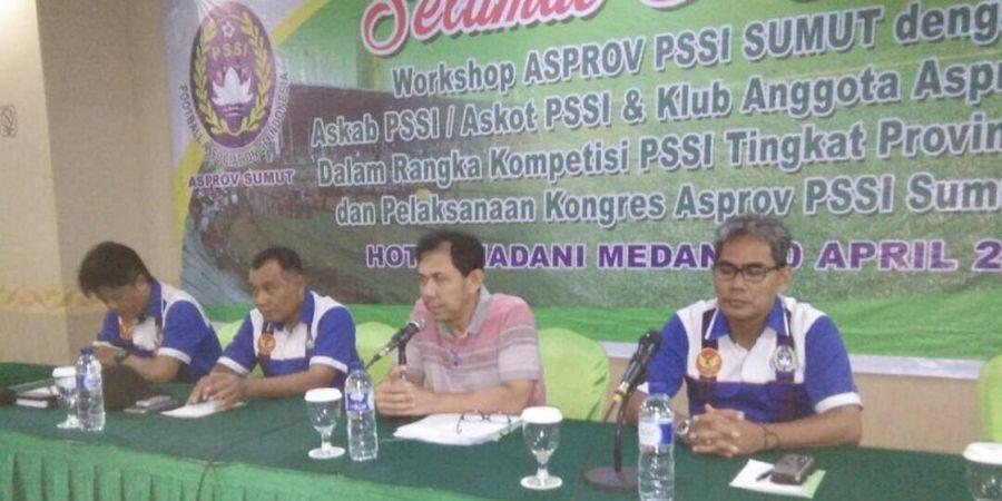 Asprov PSSI Sumatra Utara Siap Gelar Tiga Kompetisi
