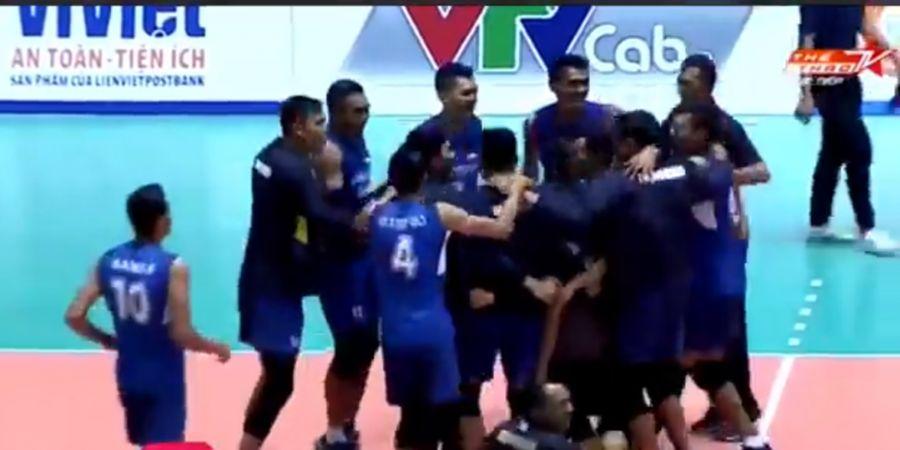 Libas Thailand, Timnas Voli Putra Indonesia Juarai Piala Lienvietpostbank 2018