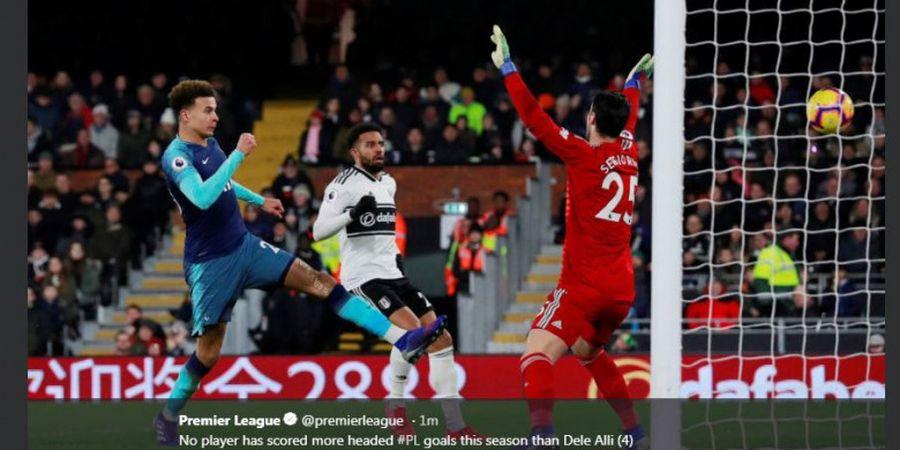 Hasil Liga Inggris, Tottenham Hotspur Menang Dramatis Berkat 2 Gol dari Kepala