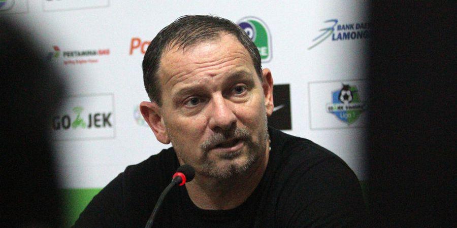 Pelatih Borneo FC Tetap Berharap Laga Kontra Persija dan Persib di Stadion Segiri