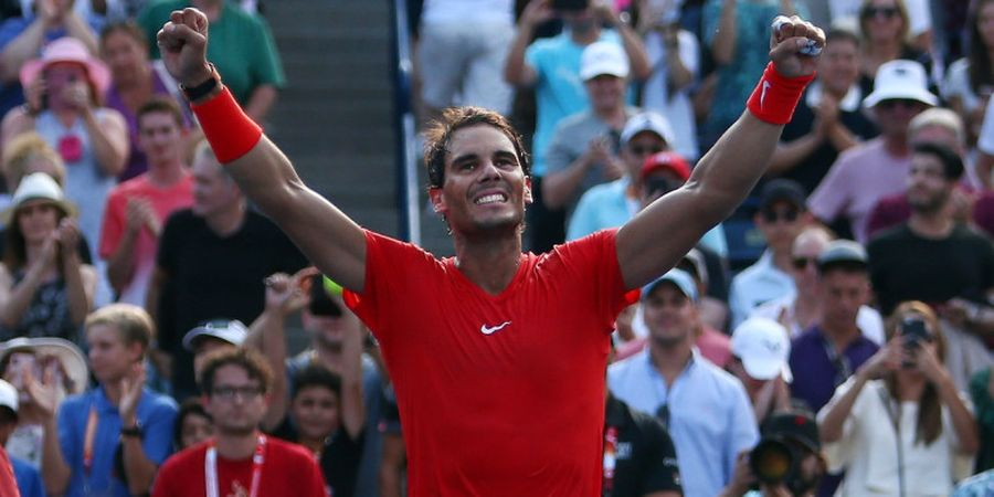 Pasca-juara Rogers Cup 2018, Rafael Nadal Beri Penghargaan kepada Sang Rival