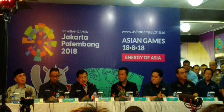 Jusuf Kalla Pastikan Indonesia Sudah Siap Gelar Asian Games 2018