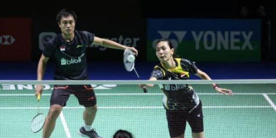 Ganda Campuran Inggris Hentikan Kiprah Hafiz/Gloria di Denmark Open 2018