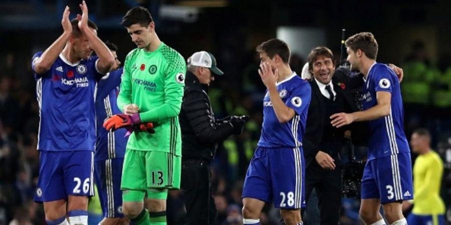 Dahsyatnya Formasi 3-4-3 Racikan Conte di Chelsea