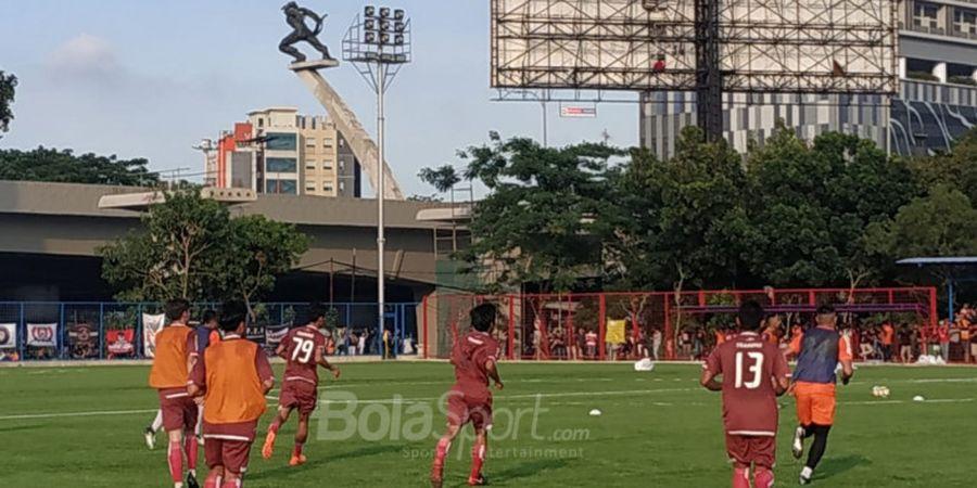 Staff Pelatih Persija Minta Lebih Sering Latihan di Lapangan Aldiron, Ini Alasannya