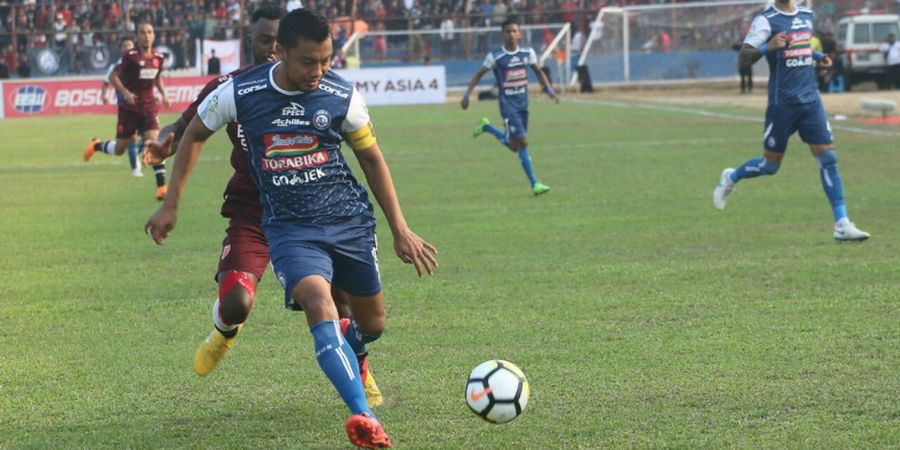 Pelatih Arema FC Tak Mau Timnya Terlalu Bergantung kepada Hamka Hamzah