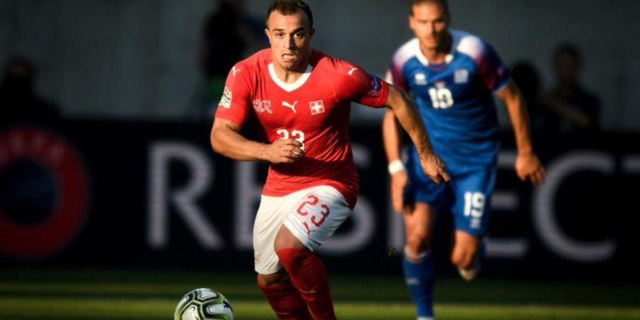 Swiss Hajar Islandia 6-0, Bintang Liverpool Cetak Gol Tendangan Bebas Spektakuler