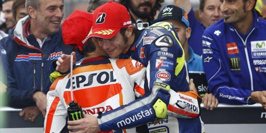 Valentino Rossi Tanggapi Batalnya Dani Pedrosa Gabung ke Tim Satelit Yamaha