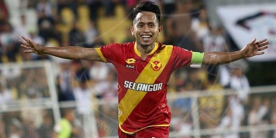 Andik Vermansah Dikartu Merah, Selangor FA Menang Tipis