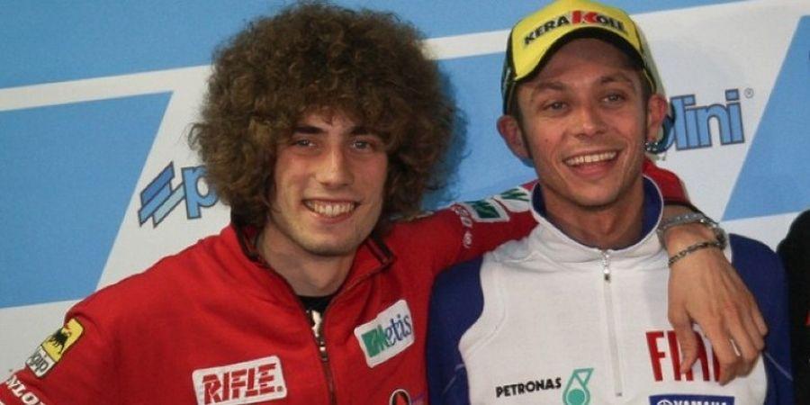Valentino Rossi Masih Tak Bisa Lupakan soal Insiden Marco Simoncelli