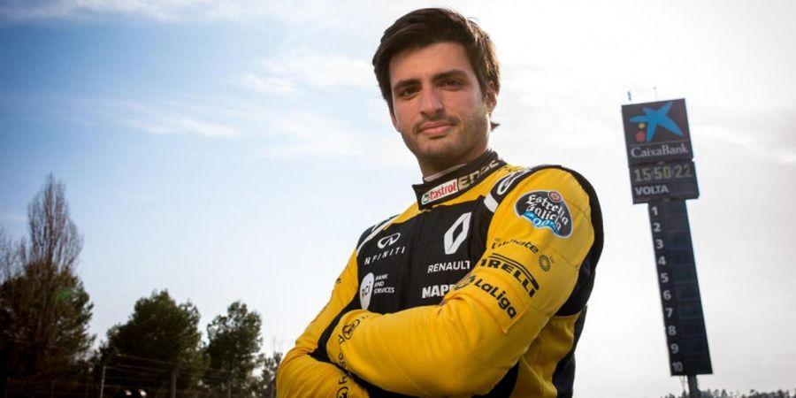 Carlos Sainz Jr Sebut Mesin Mobil Renault Sudah Tunjukkan Kemajuan