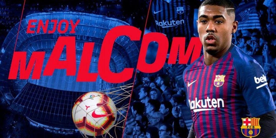 Tolak AS Roma pada Hari Terakhir, Malcom Dapatkan Karma bersama Barcelona