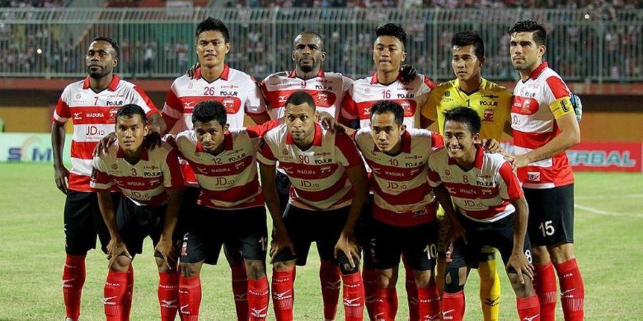 Madura United Kapok Pakai Formasi Tiga Bek