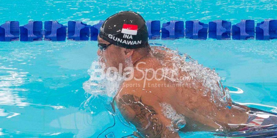 Cerita Unik di Balik Kesuksesan Indra Gunawan di Nomor 50 M Gaya Dada SEA Games 2017