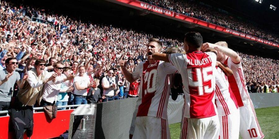 Ajax dan Starting XI Termuda di Liga Belanda