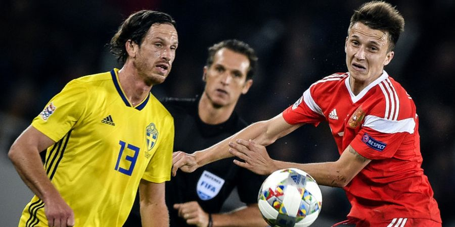 Hasil UEFA Nations League Kamis (11/10) - Swedia dan Polandia Kritis