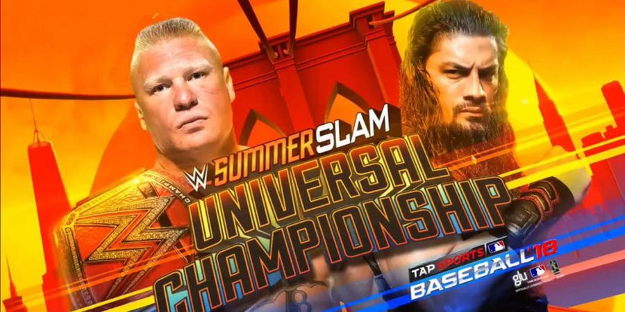 Jadwal WWE SummerSlam 2018 - Nasib Brock Lesnar dan Ronda Rousey Ditentukan di Brooklyn