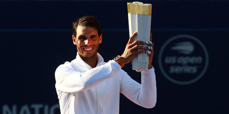 Kekalahan Jadi Sumber Inspirasi Rafael Nadal Rebut Gelar Rogers Cup 2018