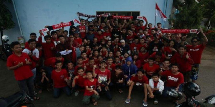 Tiba di Ternate, PSM Makassar Disambut Red Gank