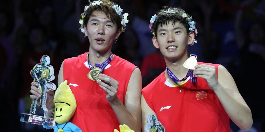 Hasil BWF World Tour Finals 2018 - Libas Pasangan Jepang, Li/Liu Raih Gelar Juara Ganda Putra