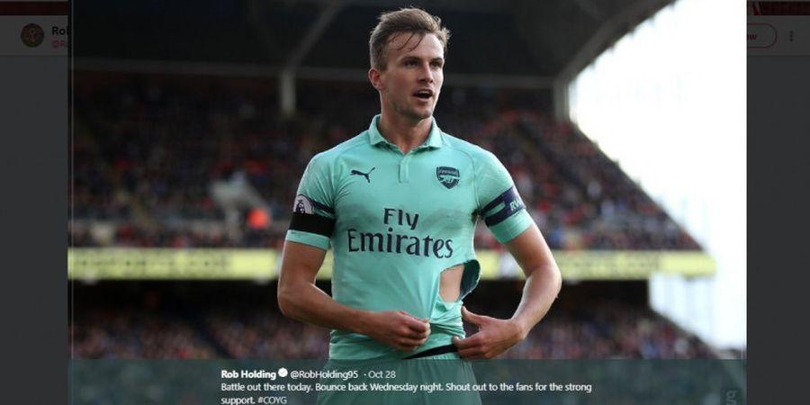Jadi Andalan Arsenal, Rob Holding Kasih Kode ke Timnas Inggris