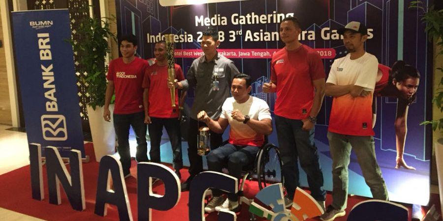 Jelang Asian Para Games 2018 - Tiru Asian Games 2018, Inapgoc Gelar Festival di GBK