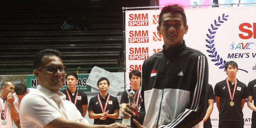 Rivan Nurmulki Jadi Salah Satu Pemain Terbaik pada Kejuaraan Bola Voli Asia 2017