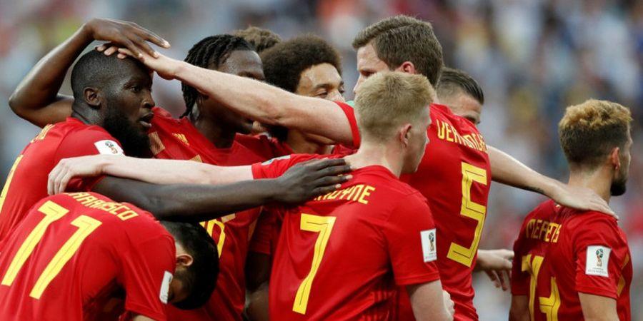 Sebelum Membantai Timnas Tunisia, Penjaga Gawang Timnas Belgia Lakukan Hal Ini