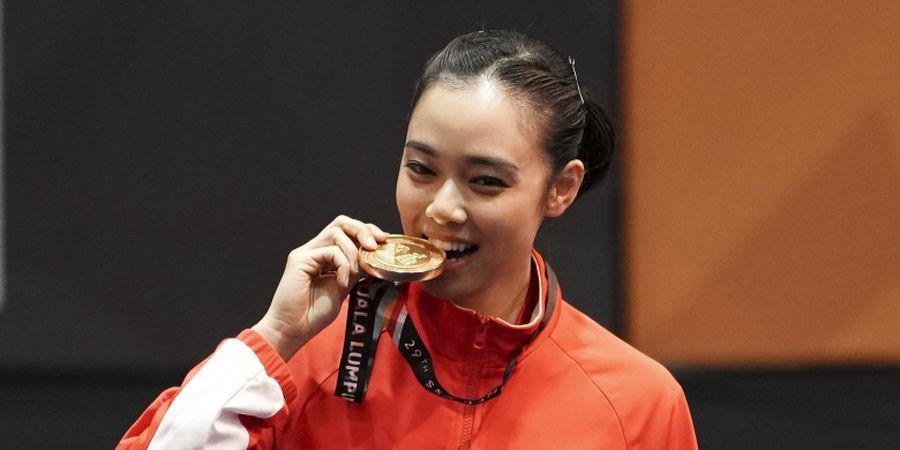 Lindswell Kwok, Ratu Wushu Asian Games 2018 yang Punya Sisi Banyak Sisi Lembut di Balik Kegarangannya