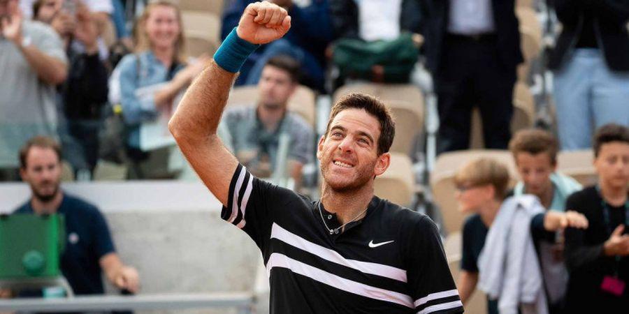 Lutut Retak Lagi, Del Potro Terpaksa Absen Berlaga di US Open 2019
