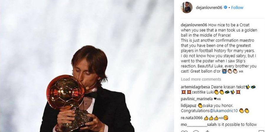 Lupakan Final Liga Champions 2018, Lovren Berikan Pujian Setinggi Langit untuk Modric