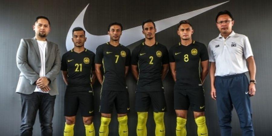 Malaysia dan Singapura Pamer Jersey Terbaru untuk Piala AFF 2016