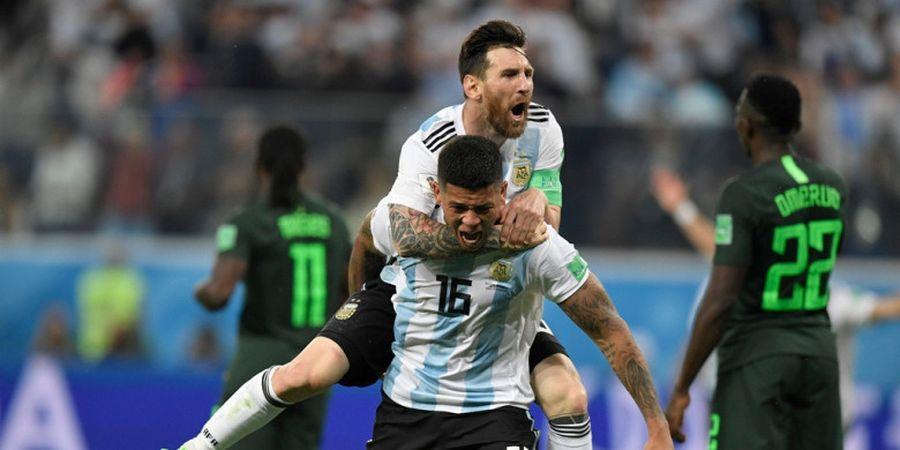 Hasil Piala Dunia 2018 - Lionel Messi Bobol Nigeria, Argentina Lolos ke Babak 16 Besar