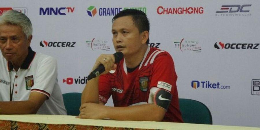 Yeyen: Calcio Legend Bukan Membuat Orang Berlari, tetapi Bola Mengalir
