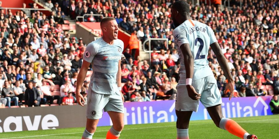 Preview Chelsea Vs Manchester United - Ross Barkley Cedera Ringan, Antonio Ruediger-Mateo Kovacic Siap Tampil