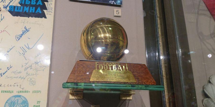 Trofi Ballon d'Or Lev Yashin, Permata di Koleksi Museum Olahraga Rusia