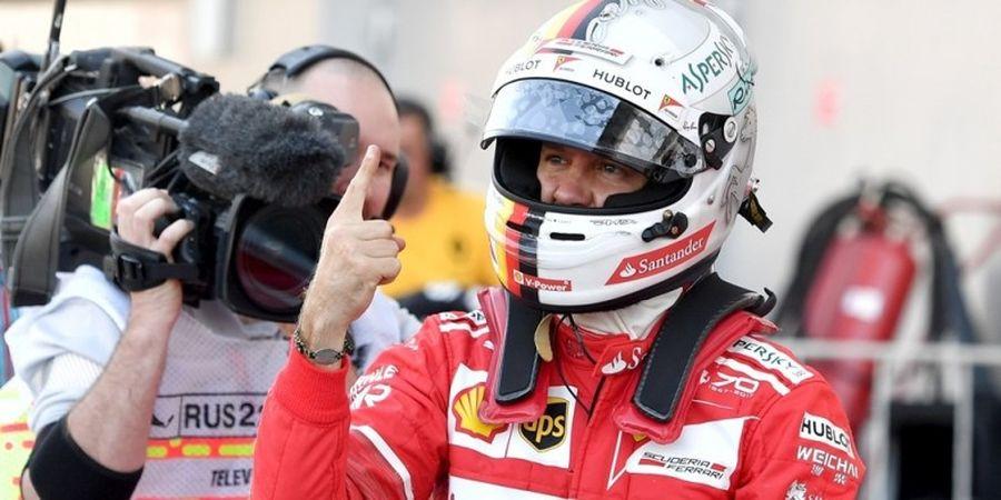 Vettel Kunci Posisi Start Terdepan Balapan GP Rusia